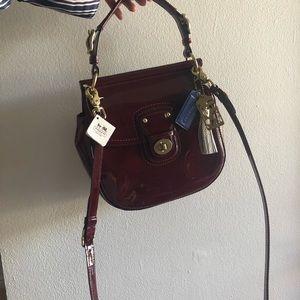 Coach Willis Patent Bag